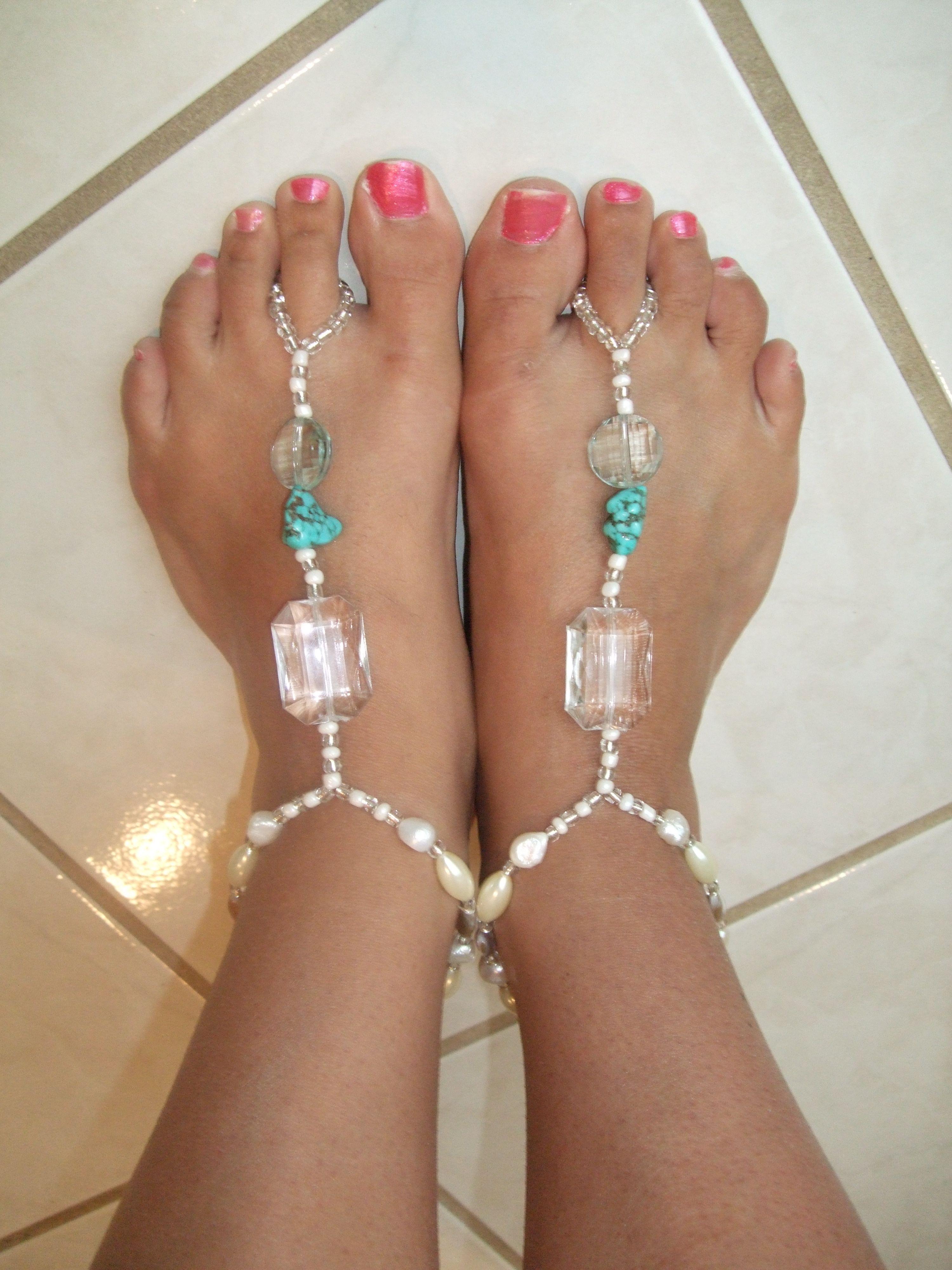 Wedding Foot Jewelry thai inspired beach foot jewelry feet jewelry