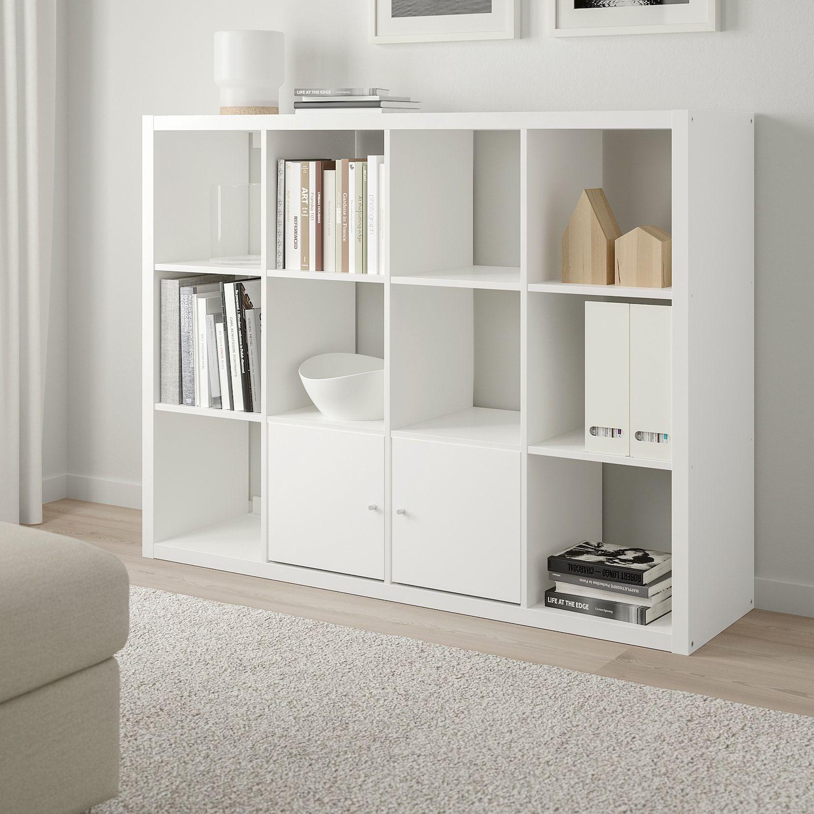 Kallax Shelf Unit White 44 1 8x57 7 8 Ikea In 2020 Ikea