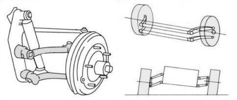 The first Formula Vee cars used a completely standard beam