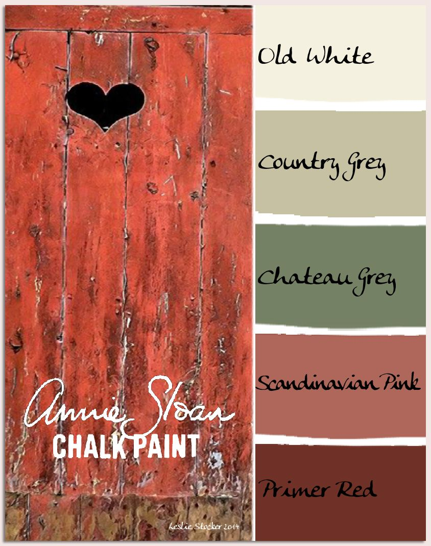 Colorways Rustic Paint Colors Annie Sloan Chalk Paint Primer Red Rustic Colors