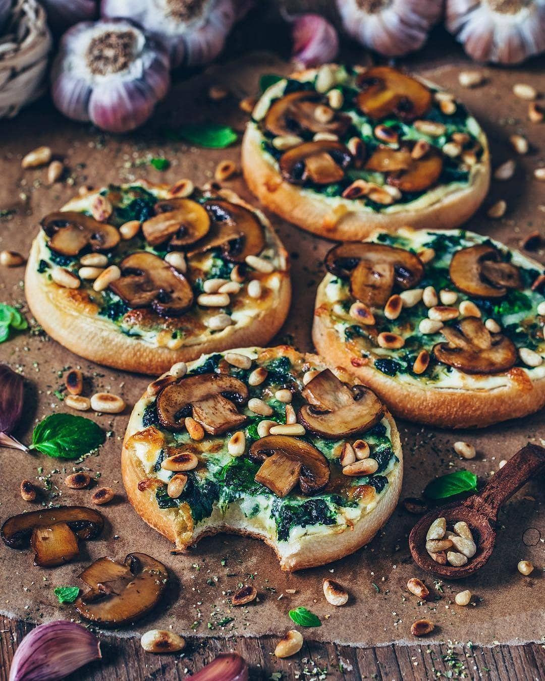 Daily Vegan Recipes On Instagram Cheesy Vegan Garlic