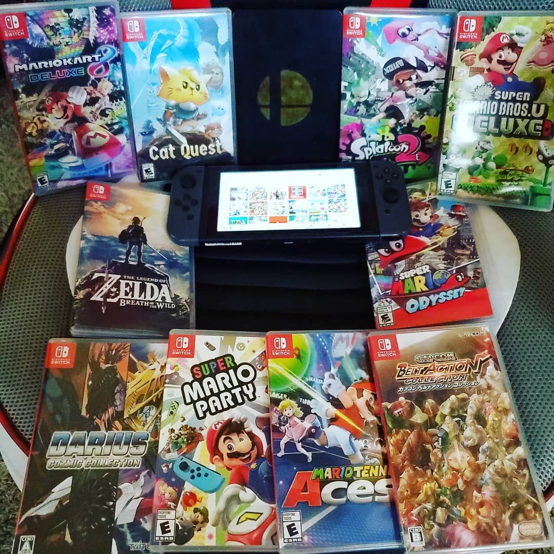 Aa Ron Mc G On Instagram My Small Nintendo Switch Collection I Love This Thing I Jus Wished I Played It More Buy Nintendo Switch Nintendo Nintendo Switch