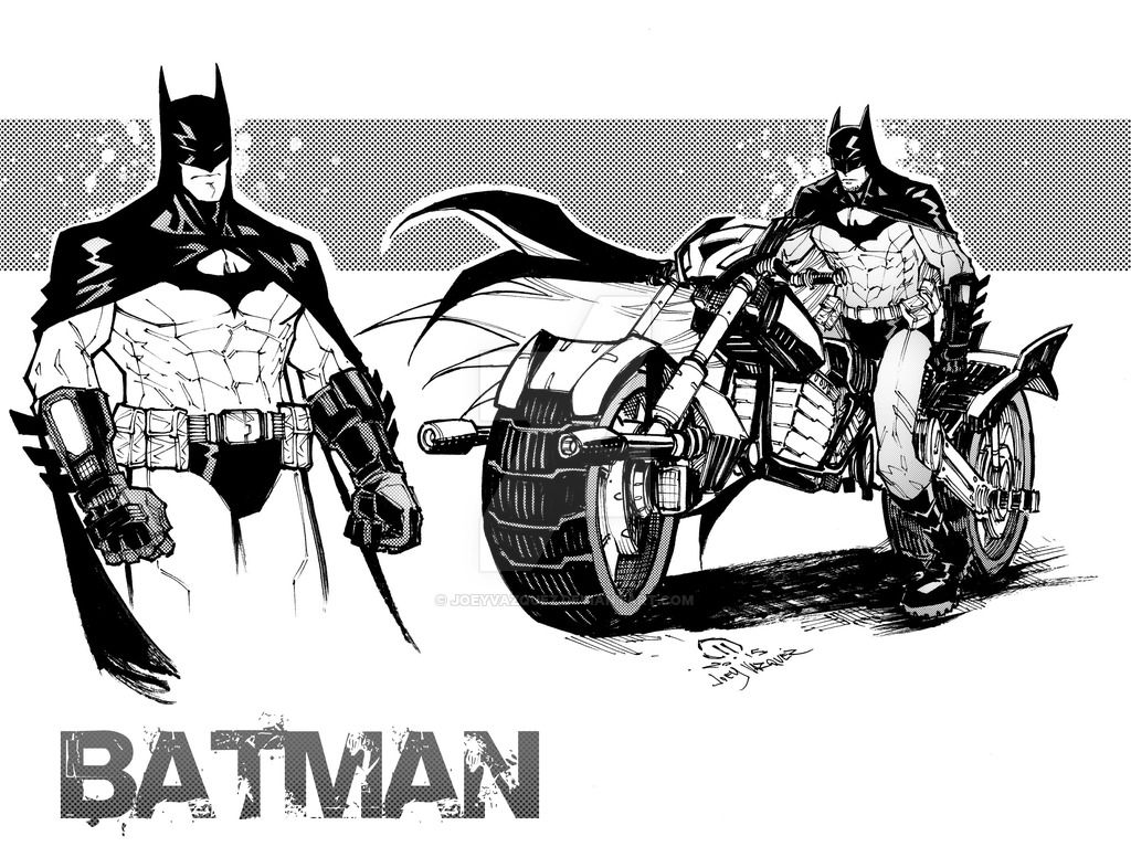 My Batman by JoeyVazquez.deviantart.com on @DeviantArt