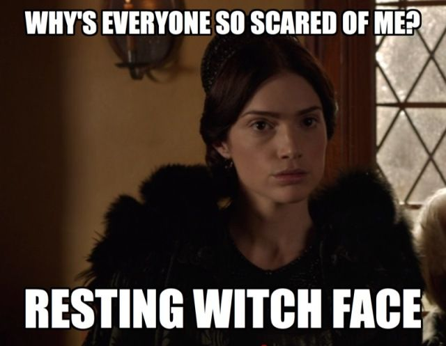 Salem Episodes 1 And 2 Recap Thou Shalt Not Suffer A Basic Witch Autostraddle Witch Meme Witch Witch Face