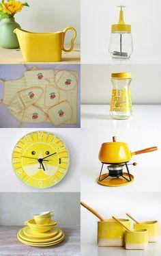 Https S Media Cache Ak0 Pinimg Com 236x 6d D4 4a 6dd44a8cedb215f7714ae6934ea0f90e Jpg Yellow Kitchen Decor Yellow Kitchen Yellow Kitchen Accessories