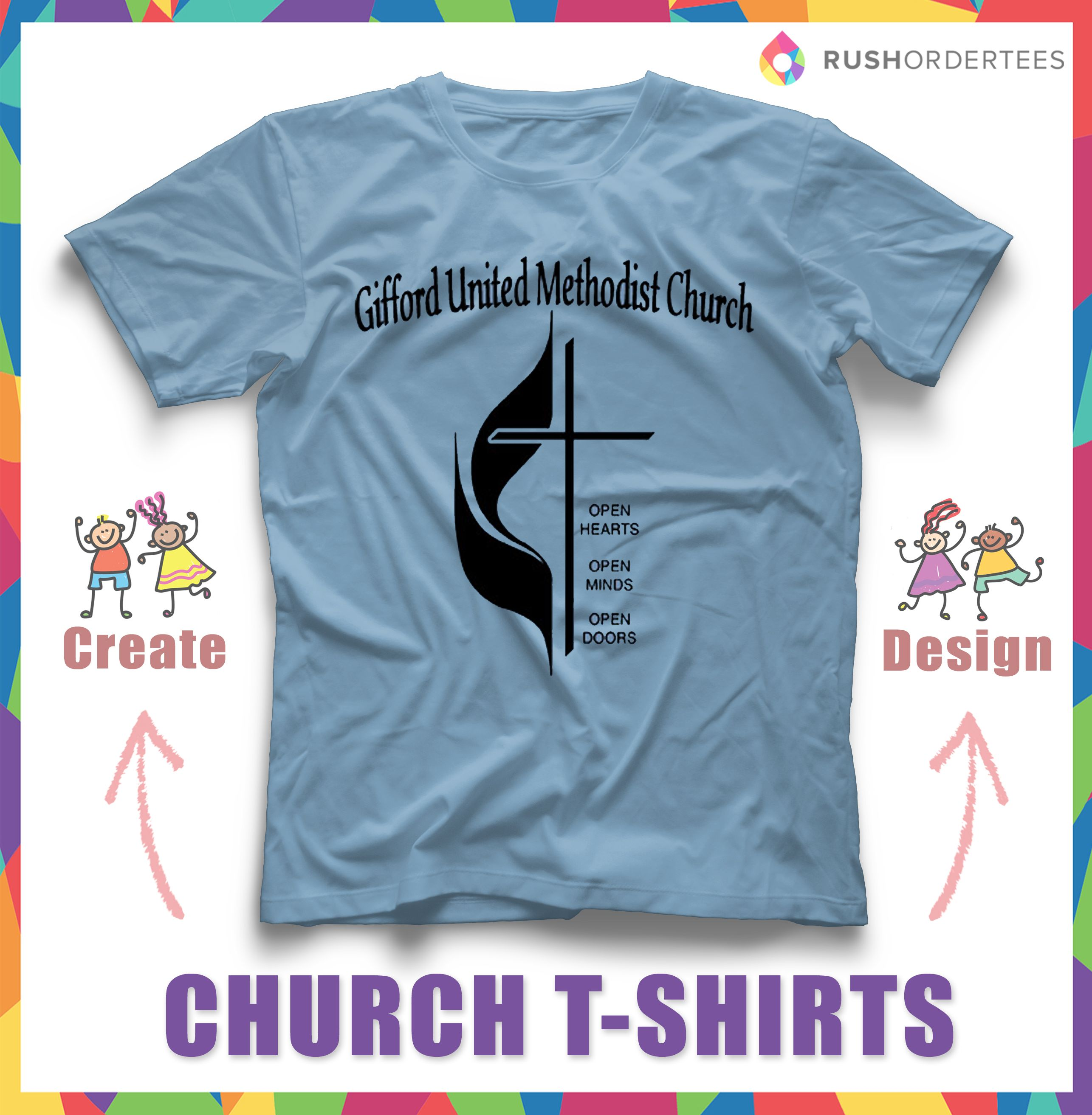 Church design idea for your custom t-shirts. You can find more ...
