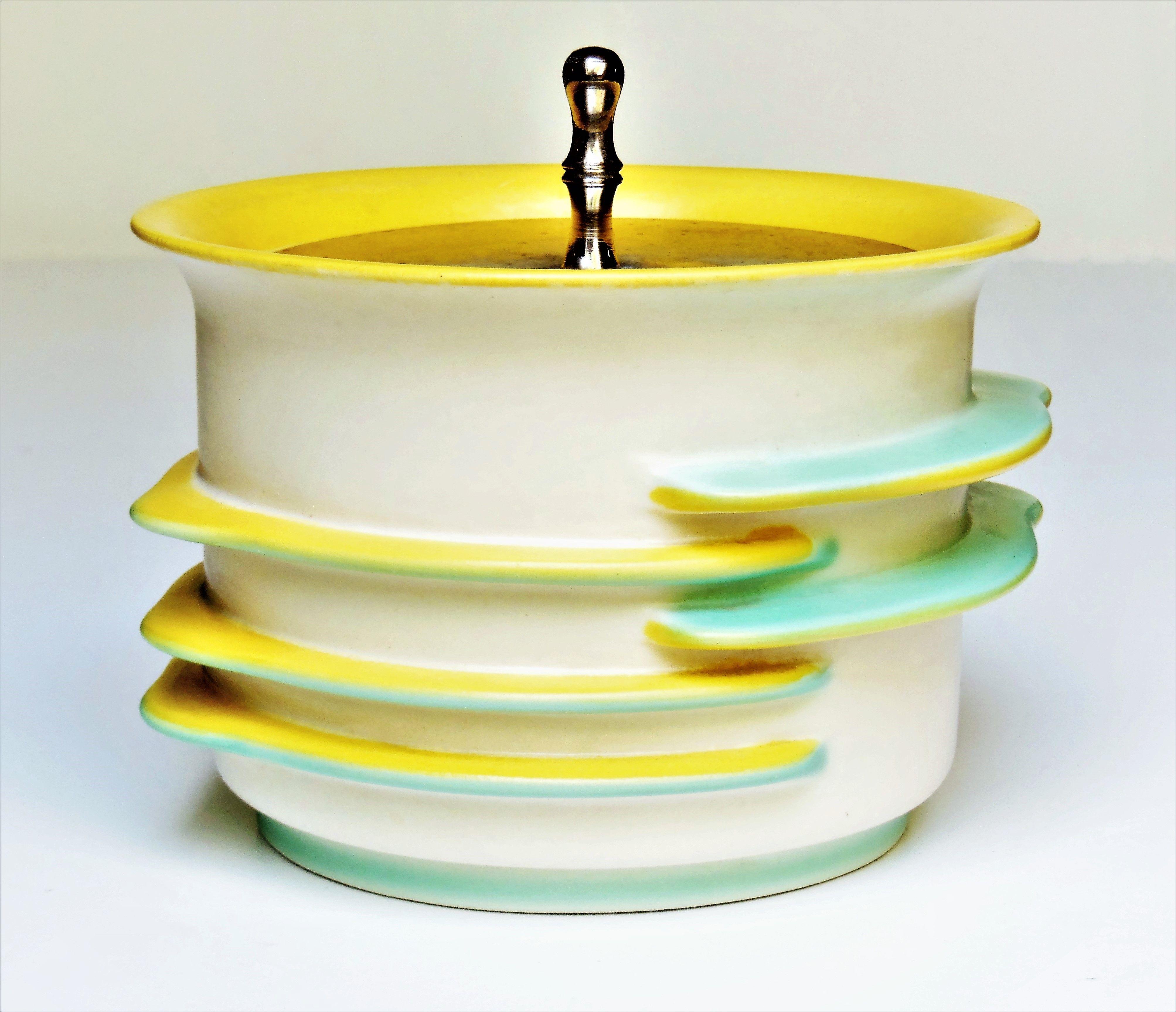 Ceramic can * MARGARETE HEYMANN * HAEL 1930 Sterne