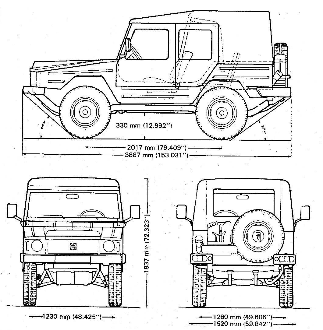 Volkswagen Iltis Inspiration And Prototype Of The Audi