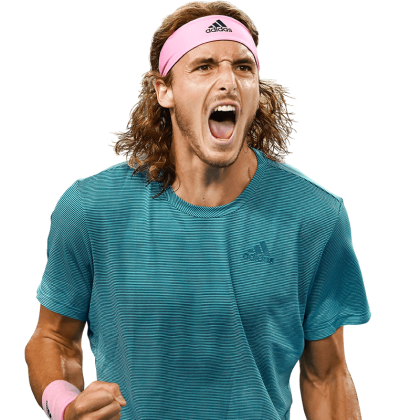 Look At The Spring In The Step Of Tsitsipas Standing Tall And Looking Fresh And Bubbly Tsitsipas Vs Roger Federer M Roger Federer Australian Open Mens Tops