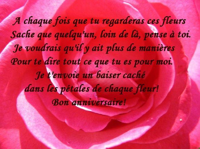 Poeme Anniversaire De Rencontre Site De Rencontre 55 Ans Et Plus