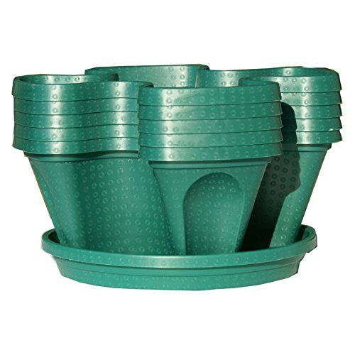 5Tier Stackable Strawberry Herb Flower Vegetable Planter