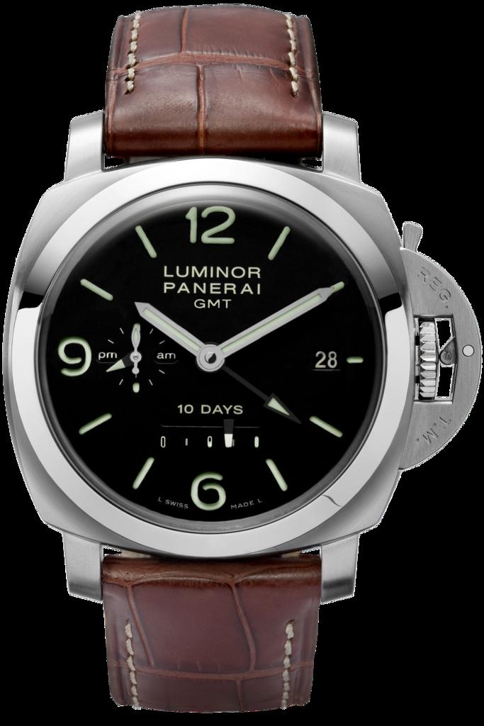 Luminor 1950 10 Days GMT Automatic Acciaio - 44mm PAM00270 - Collection Luminor 1950 - Officine Panerai Watches