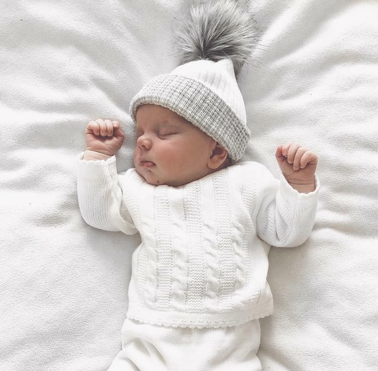 0ca7f3190a70c Discover our first size pom pom hats - perfect newborn essential ...