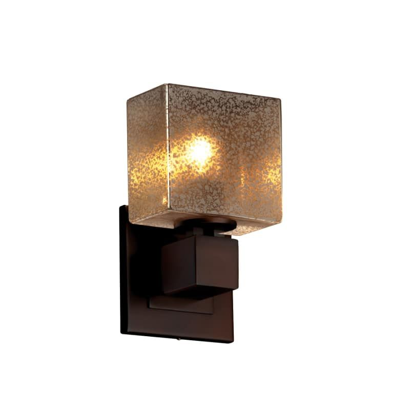 Photo of Justice Design Group FSN-8707-55-MROR-LED1-700 Fusion 5.5″ Aero 1 Light LED ADA Dark Bronze Indoor Lighting Wall Sconces