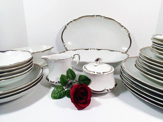 Starlight 3656 Vintage dinnerware set Sears u0026 Roebuck Harmony & Starlight 3656 Vintage dinnerware set Sears u0026 Roebuck Harmony ...