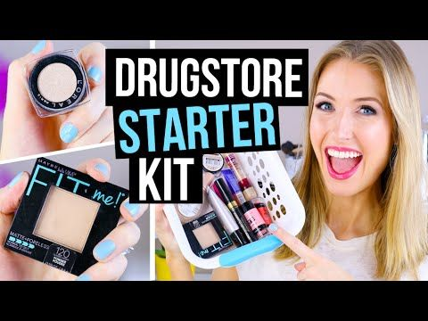 my drugstore makeup faves for beginners perfect for