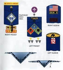 scout inspection Cub adult uniform