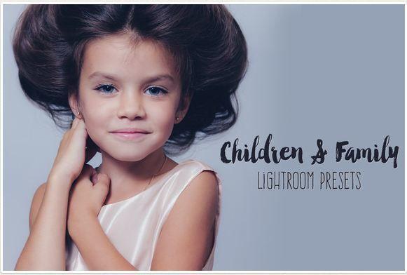 Family children portrait lightroom presets