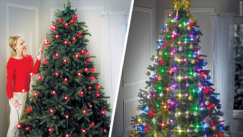 Tree Dazzler Christmas tree lights could spark a new decorating ...