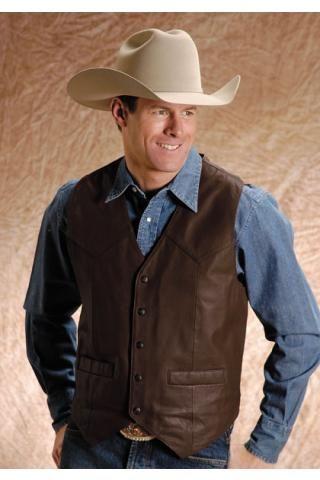 Saddle Western Vest Roper Mens Vest Vests Urban Mens Leather Vest Western Vest Vest Outfits
