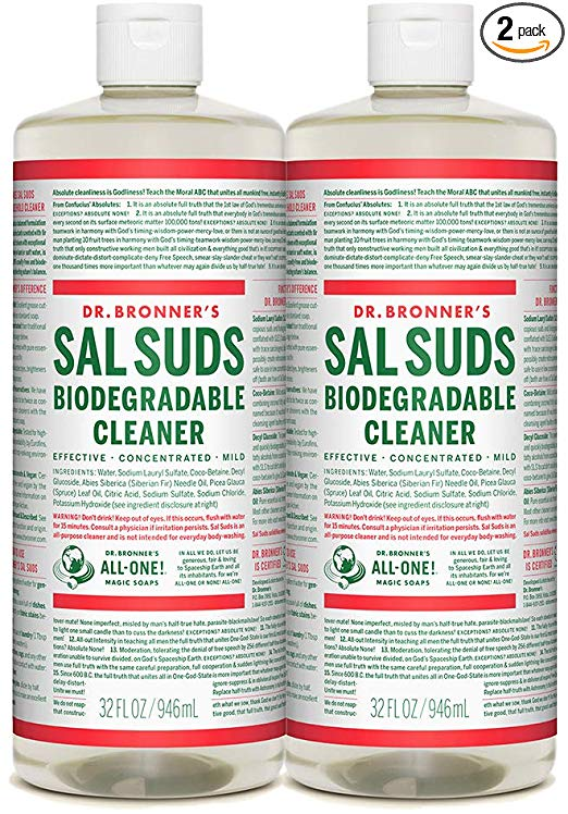 Amazon Com Dr Bronner S Sal Suds Biodegradable Cleaner 32oz 2