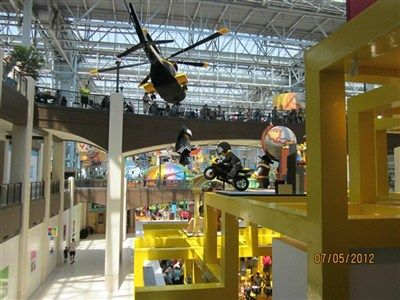 Mall of America.  Family road trip July 2012