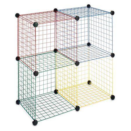 Home Wire Storage Shelves Cube Storage Wire Storage