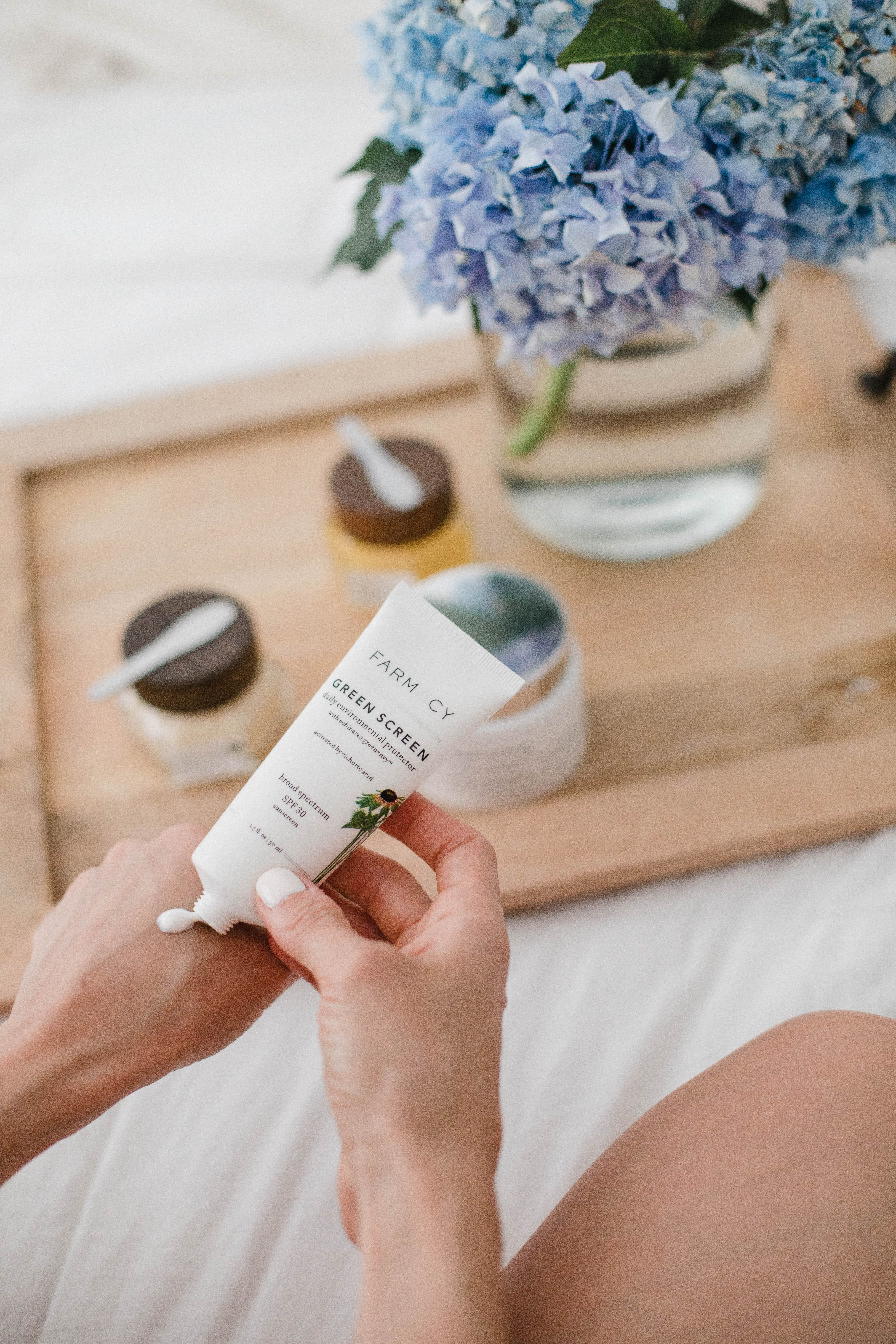 Bestselling clean skincare products from farmacy beauty