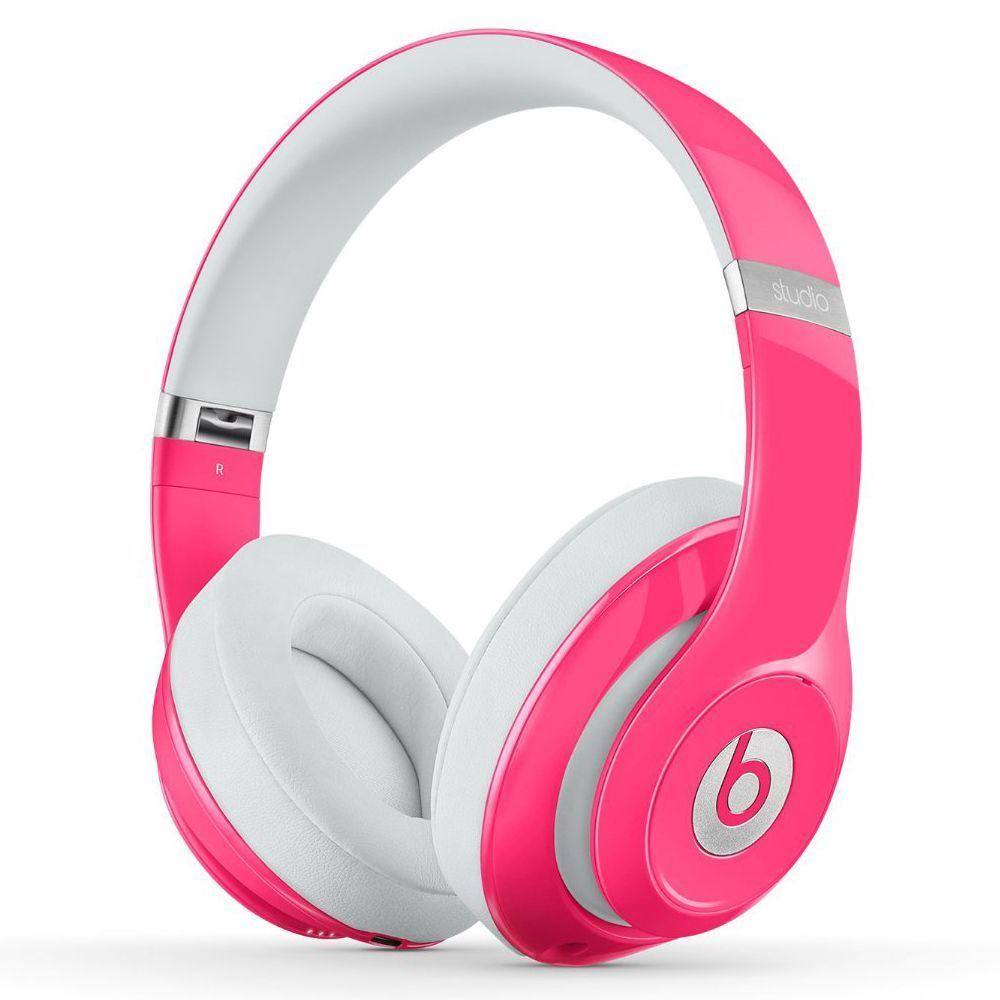 beats by dre pink studio 2 wired headphones refurbished