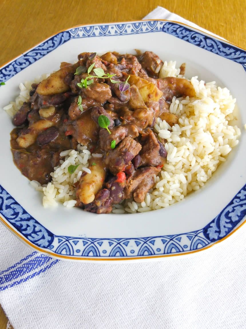 jamaican stew peas  jamaican recipes jamaican dishes