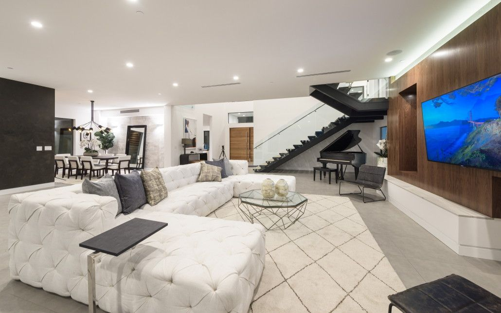 Rl Remodeling Gallery Featured On Tv Show Million Dollar Listing Culver City Residential Design Home Contractors Living Room Designs