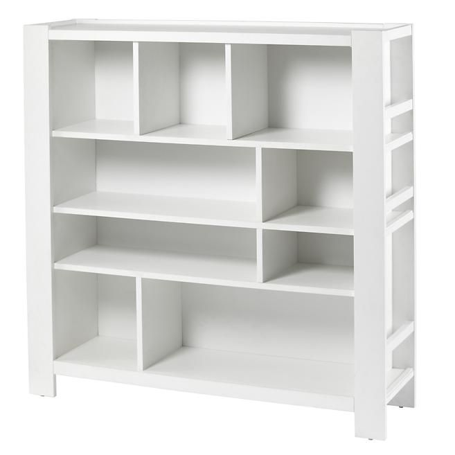 The Land Of Nod Kids Bookcase White Compartment Cubby In Bookcases