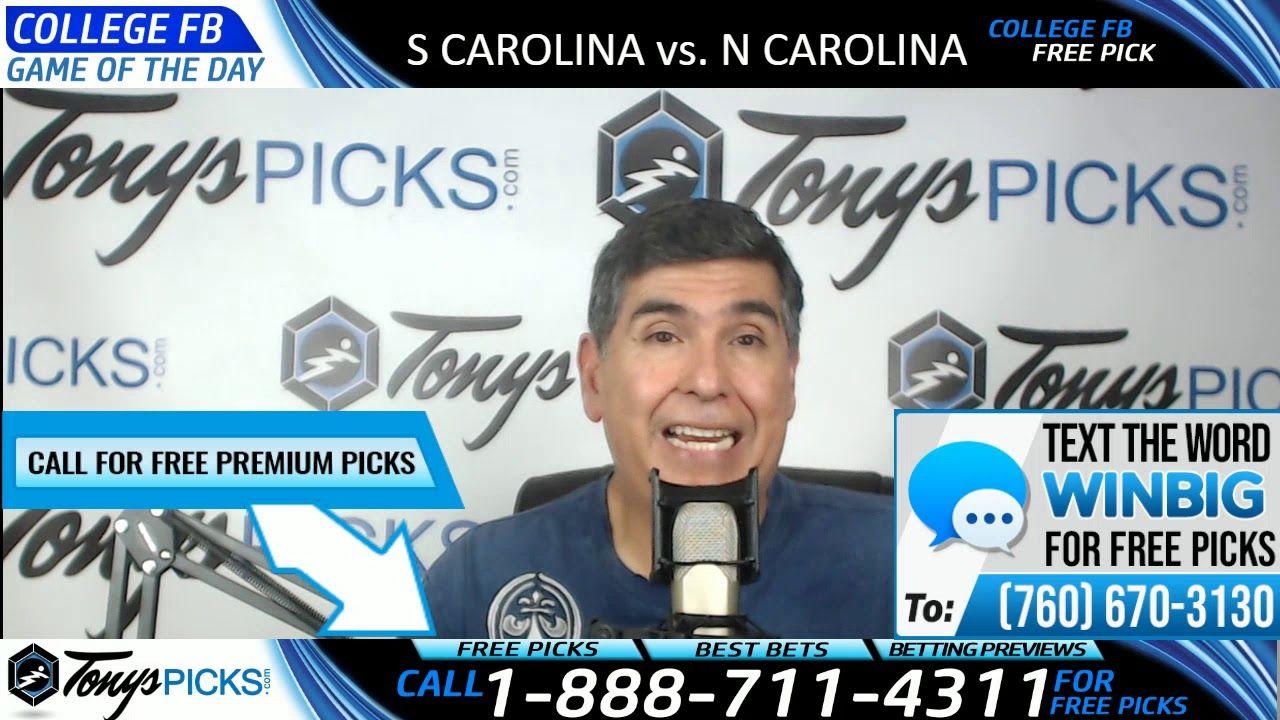 South Carolina vs. North Carolina Free NCAA Football Picks