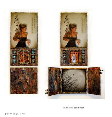 Yuko Ishii Art in Seattle: Secret Writing & Wishes are Available at ArtXchang...