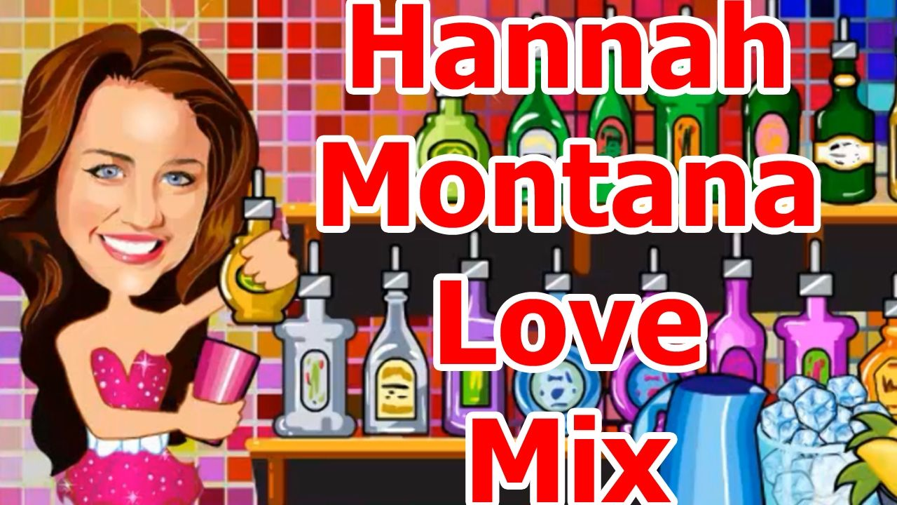 Barbie Games Hannah Montana Love Mix Baby Games Pinterest