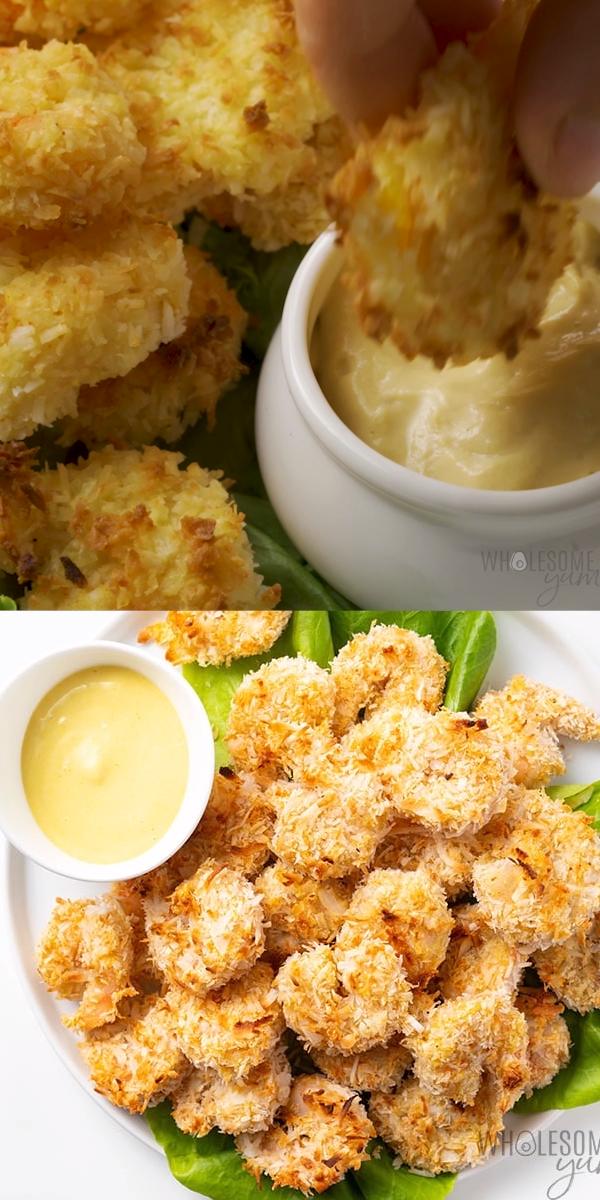 Photo of Baked Keto Coconut Shrimp Recipe