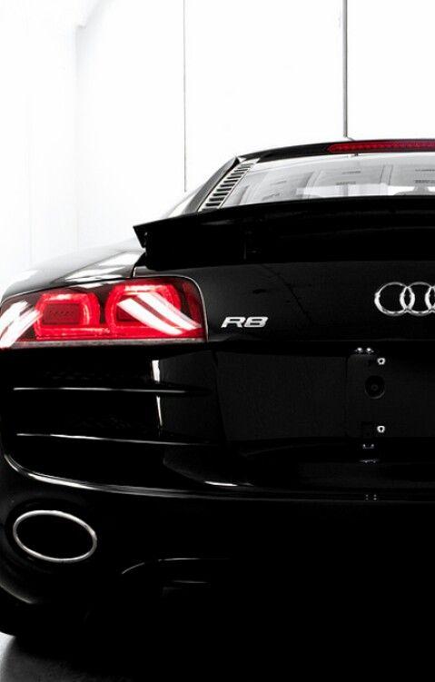 Audi R8 #Luxury#Class #Black