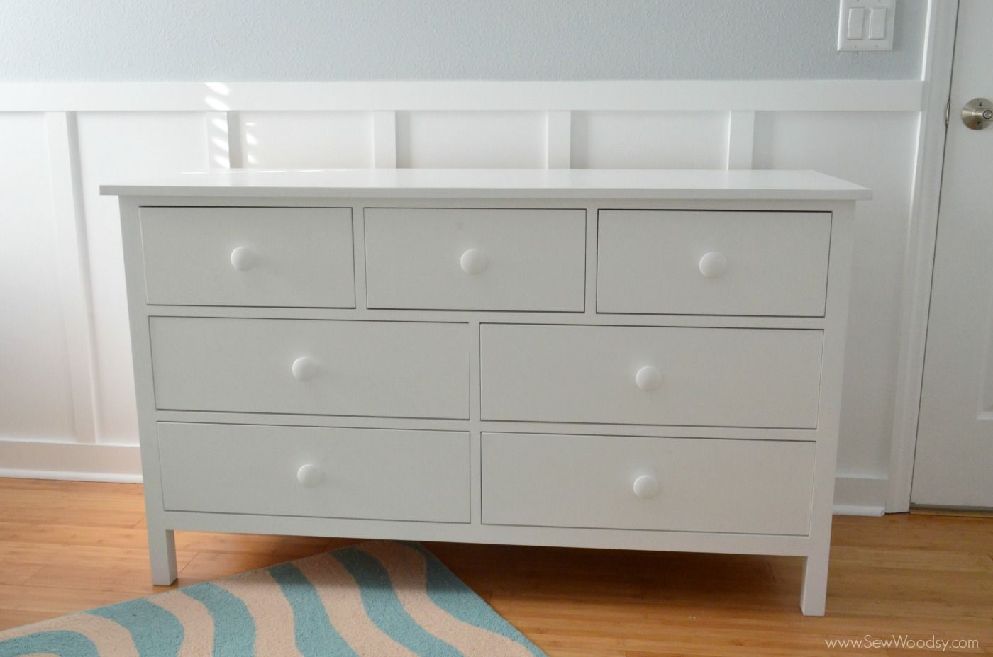 How to build an extra wide simple dresser sew woodsy crafts