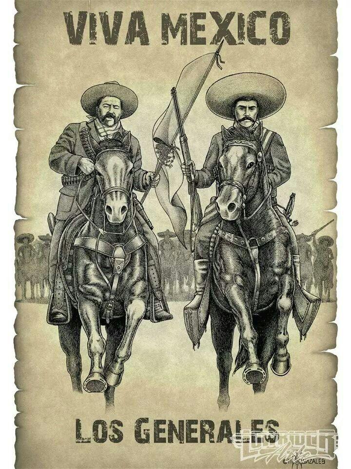Villa y Zapata Viva La Revolucion  Cosas mias  Pinterest