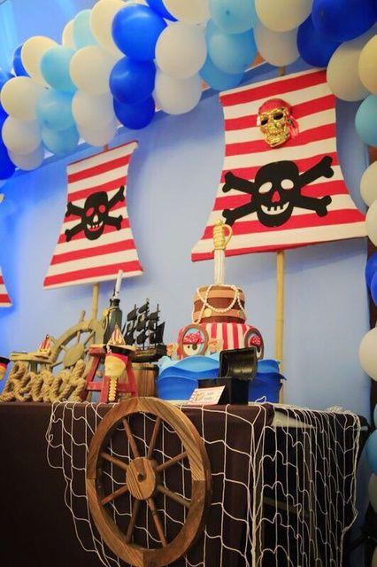 Pirates Birthday Party Ideas Boy Birthday Party Ideas Themes