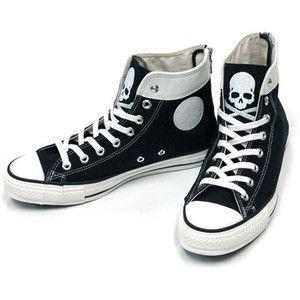 emo converse shoes