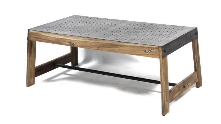 table basse style industriel manchester tables basses pinterest table basse style. Black Bedroom Furniture Sets. Home Design Ideas
