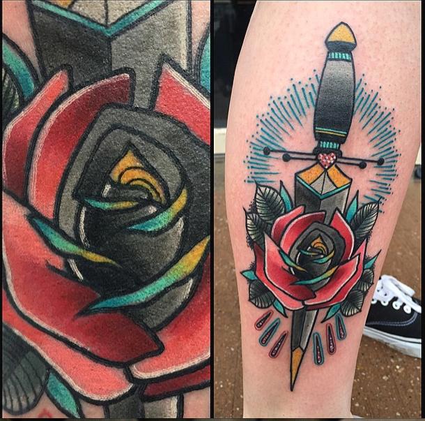 Tattoo By Jay Joree In Dallas Texas Www Instagram Com  C B Dallas Texastraditional Tattooneo