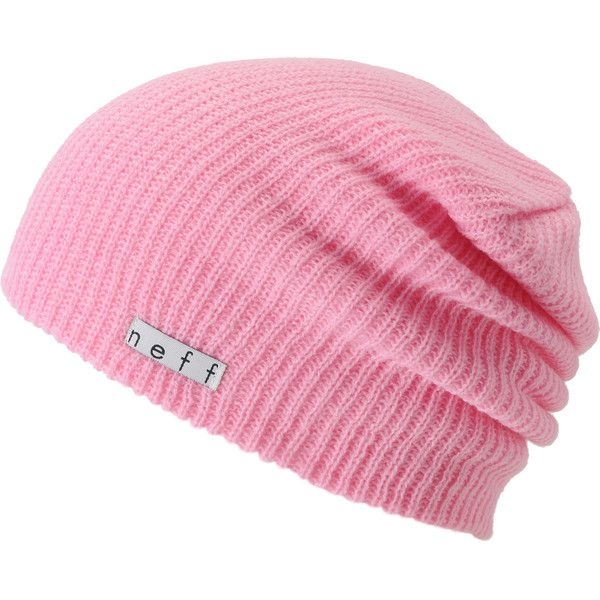 5f7a025d647 Neff Daily Light Pink Beanie ( 18) ❤ liked on Polyvore