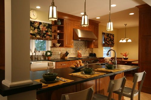 Oak cabinets with what color walls best home decoration Yellow paint for kitchen walls