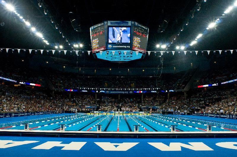 U S  Olympic Swimming Team Trials at CenturyLink Center on