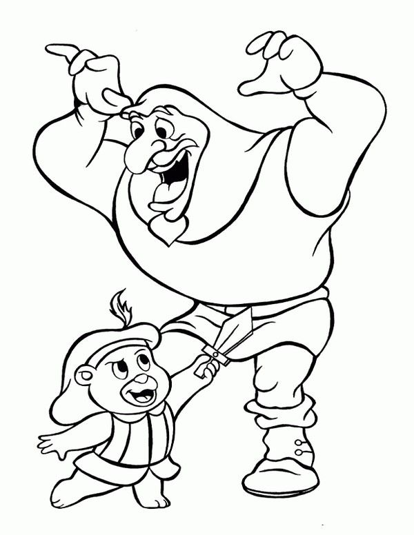 Gummi Bears Coloring Pages 1 | Coloring pages for kids | Pinterest ...