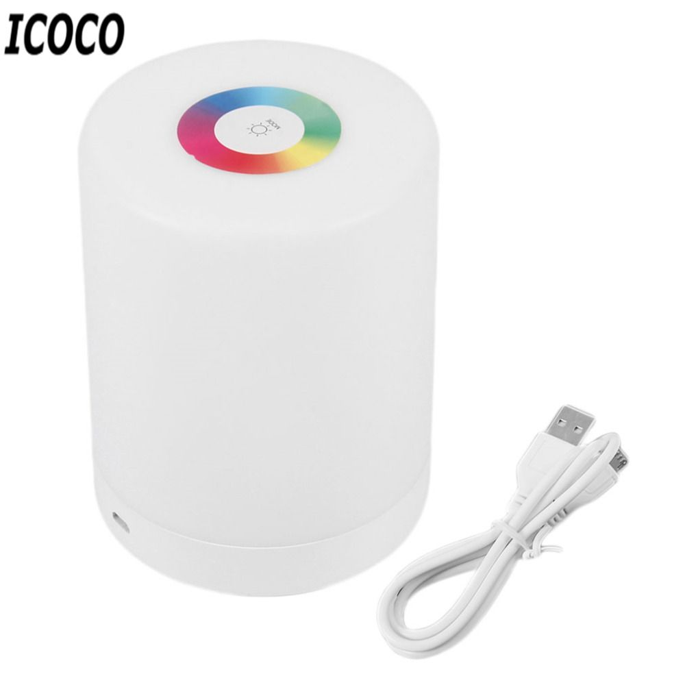 Icoco Portable Usb Multifunction Outdoor Touch Sensor Dimmable Led Emergency Camping Lamp Tent Hanging Night Ligh Camping Lamp Led Outdoor Lighting Night Light