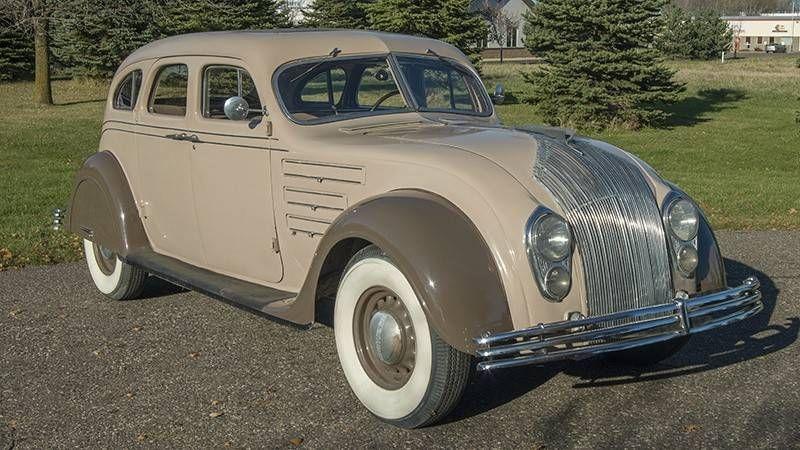 1934 Chrysler Imperial Airflow Sedan Chrysler Airflow Chrysler