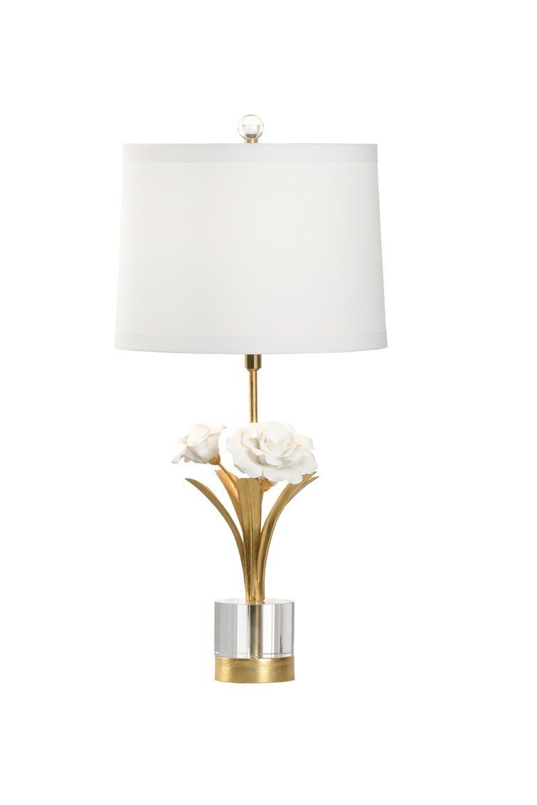 Chelsea House Small Rose Lamp 69569 Small Rose Home Decor House